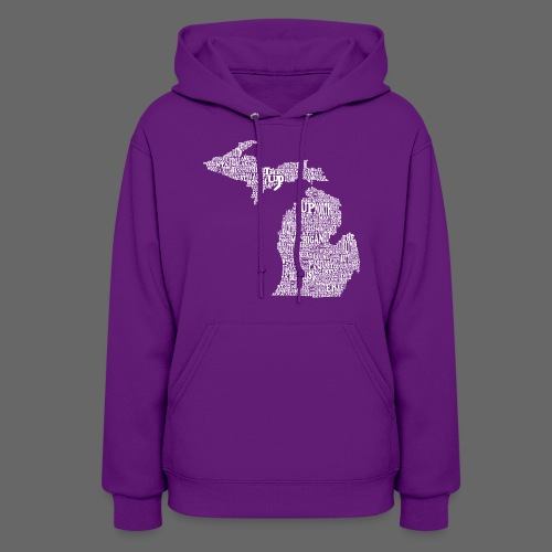 Michigan Words - Women's Hoodie