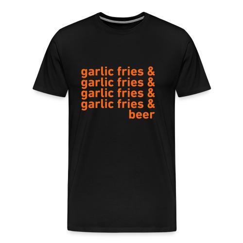 Garlic Fries & Beer (SF Giants) - Men's Premium T-Shirt
