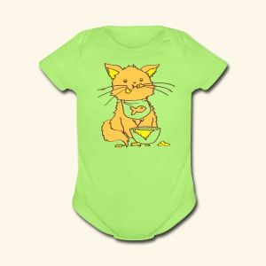 Kitty Nom Noms Baby Bodysuit - Short Sleeve Baby Bodysuit