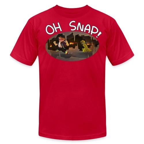 Oh snap T-shirt - Men's Fine Jersey T-Shirt