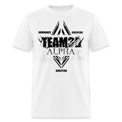 Basic Plain-Black logo - Men's T-Shirt