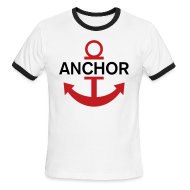 T-Shirts ~ Men's Ringer T-Shirt ~ Luffy Anchor
