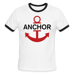 Luffy Anchor  - Men's Ringer T-Shirt