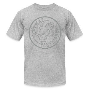 MENS/UNISEX MONOCROMATIC LOGO T SHIRT - Men's T-Shirt by American Apparel