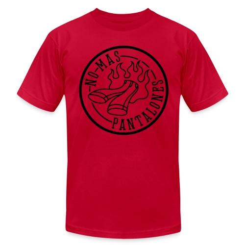 MENS/UNISEX HAZARD LOGO T SHIRT - Men's Fine Jersey T-Shirt