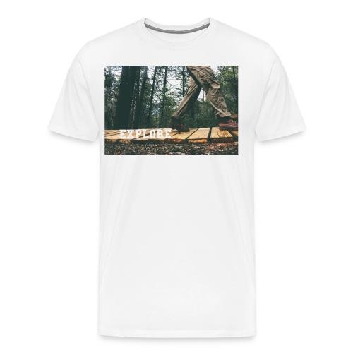 Explore Edition 2 - Men's Premium T-Shirt