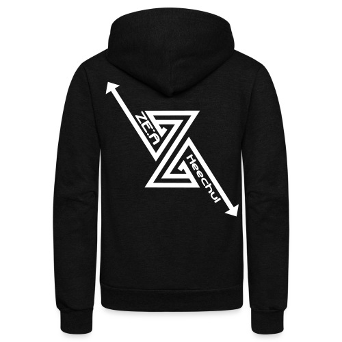 ZEA - Heechul - Unisex Fleece Zip Hoodie by American Apparel