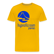 T-Shirts ~ Men's Premium T-Shirt ~ HROOM JAPAN T-SHIRT - YELLOW