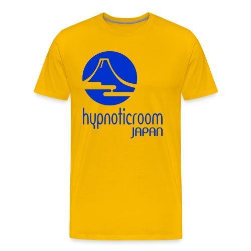 HROOM JAPAN T-SHIRT - YELLOW - Men's Premium T-Shirt