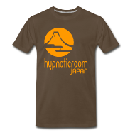 T-Shirts ~ Men's Premium T-Shirt ~ HROOM JAPAN T-SHIRT - BROWN