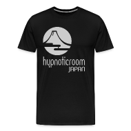 T-Shirts ~ Men's Premium T-Shirt ~ HROOM JAPAN T-SHIRT - BLACK