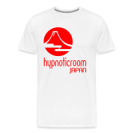 T-Shirts ~ Men's Premium T-Shirt ~ HROOM JAPAN T-SHIRT - WHITE