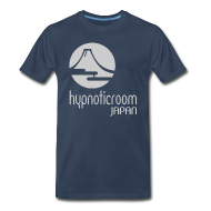 T-Shirts ~ Men's Premium T-Shirt ~ HROOM JAPAN T-SHIRT - NAVY BLUE