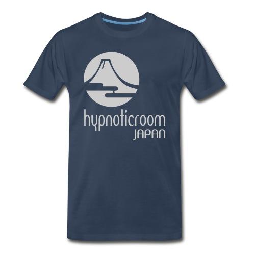 HROOM JAPAN T-SHIRT - NAVY BLUE - Men's Premium T-Shirt