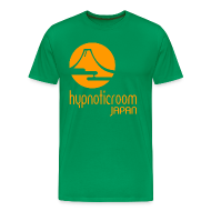 T-Shirts ~ Men's Premium T-Shirt ~ HROOM JAPAN T-SHIRT - GREEN