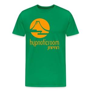 HROOM JAPAN T-SHIRT - GREEN - Men's Premium T-Shirt
