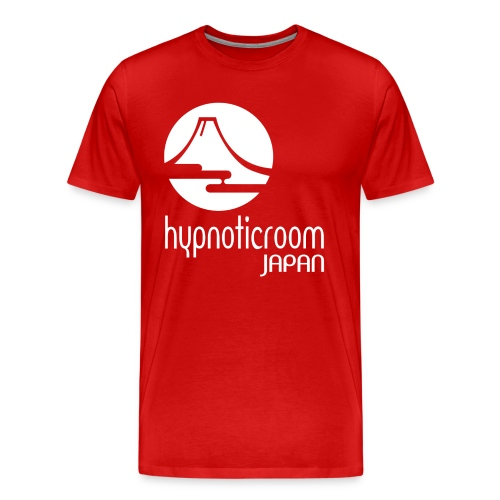 HROOM JAPAN T-SHIRT - RED - Men's Premium T-Shirt