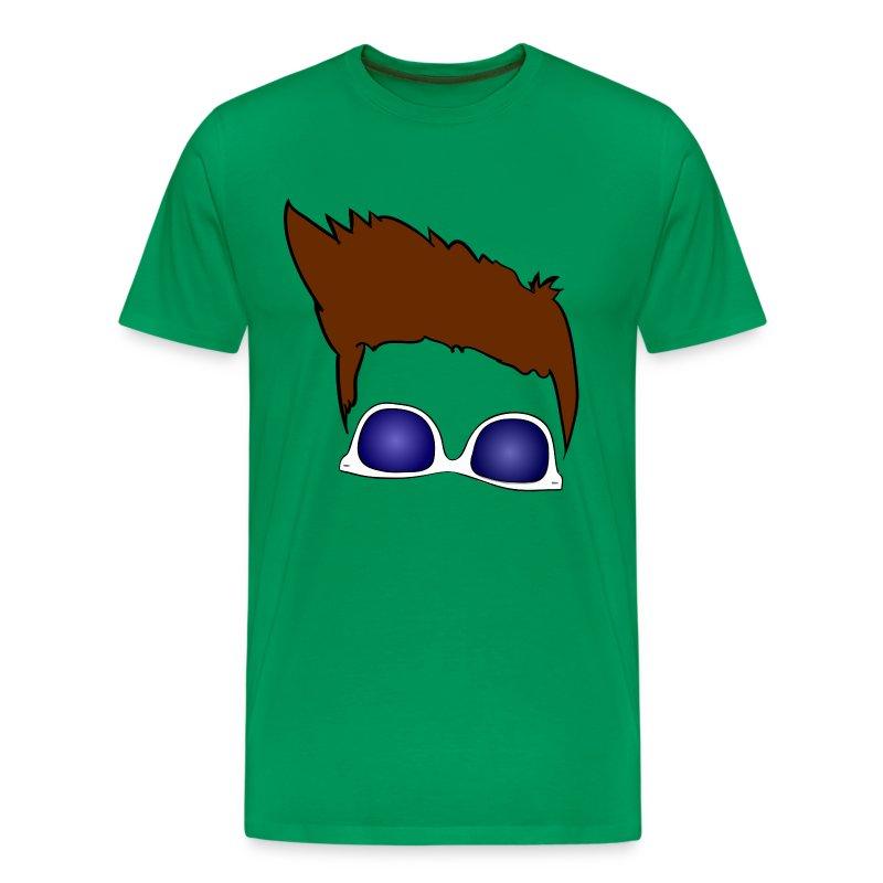 flequillo style white - Men's Premium T-Shirt