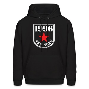 Black 1996 NY Love the Club Hate the Brand Men's Hoodie - Men's Hoodie