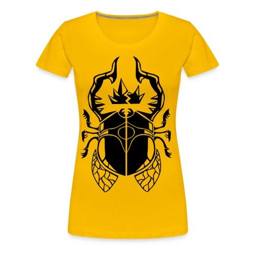 Godling Beetle Female - Women's Premium T-Shirt