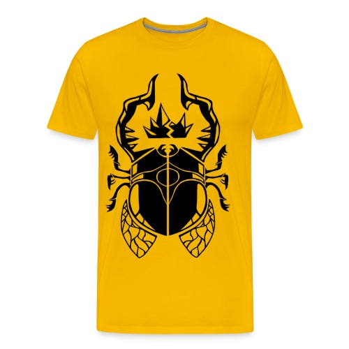Godling Beetle - Men's Premium T-Shirt