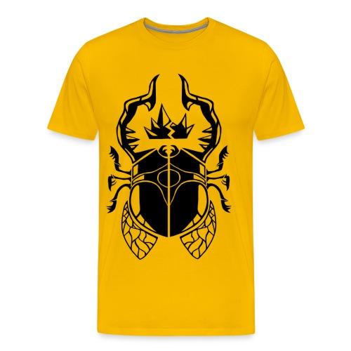 Godling Beetle - Men's Premium T-Shirt