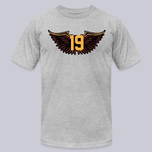 Tony Wings - Men's T-Shirt by American Apparel