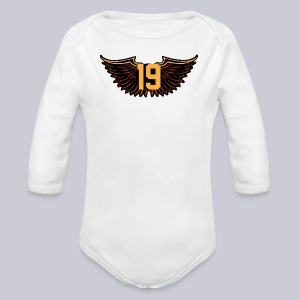 Tony Wings - Long Sleeve Baby Bodysuit