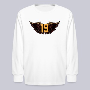 Tony Wings - Kids' Long Sleeve T-Shirt