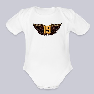 Tony Wings - Short Sleeve Baby Bodysuit