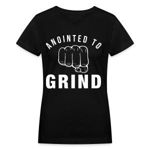 ATG Women's V - Women's V-Neck T-Shirt