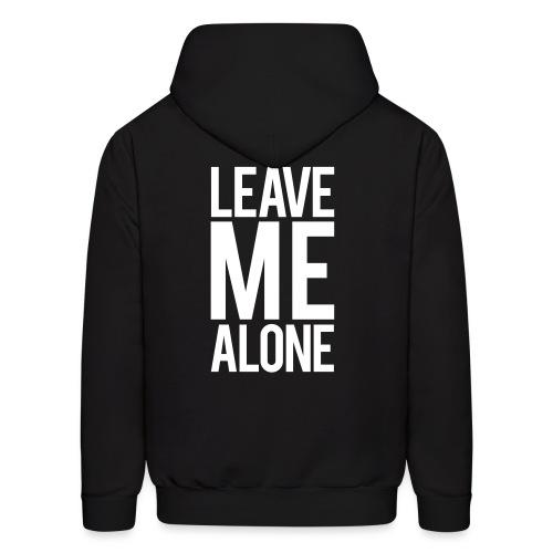 Leave me alone | mens hoodie - Men's Hoodie