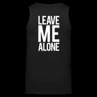 Tank Tops ~ Men's Premium Tank Top ~ Leave me alone | Mens tank