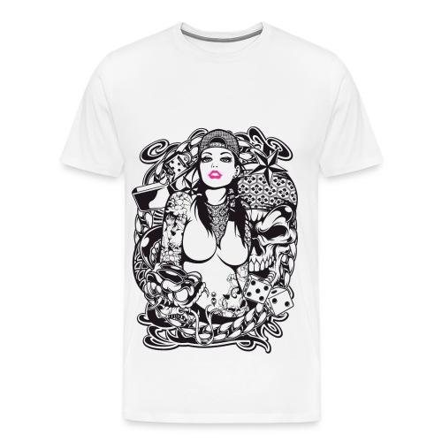 Bella Donna - Men's Premium T-Shirt