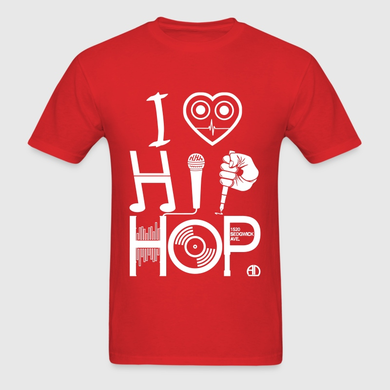 I love hiphop music t shirt spreadshirt Dj t shirt design