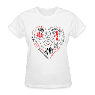 T-Shirts ~ Women's T-Shirt ~ Scoliosis Awareness