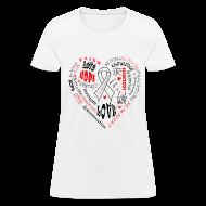 Women's T-Shirts ~ Women's T-Shirt ~ Scoliosis Awareness
