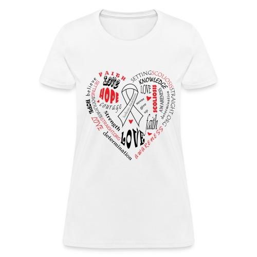 Scoliosis Awareness - Women's T-Shirt