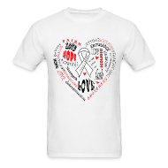 T-Shirts ~ Men's T-Shirt ~ Scoliosis Awareness