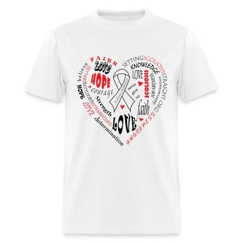 Scoliosis Awareness - Men's T-Shirt