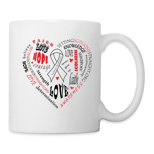 Scoliosis Awareness Mug - Coffee/Tea Mug