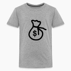 Bag of money - Dollar Kids' Shirts