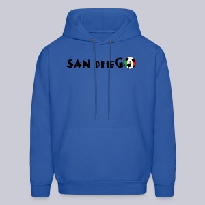 San Diego Mexican Soccerball - Men's Hoodie