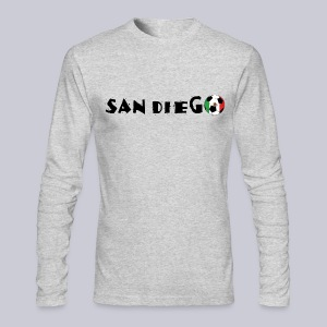 San Diego Mexican Soccerball - Men's Long Sleeve T-Shirt by Next Level