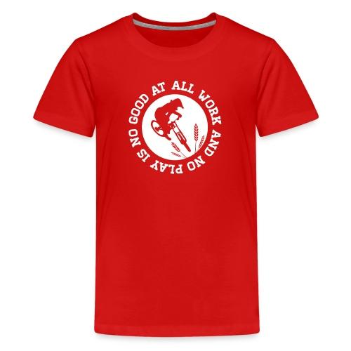 All Work and No Play (Kids) - Kids' Premium T-Shirt