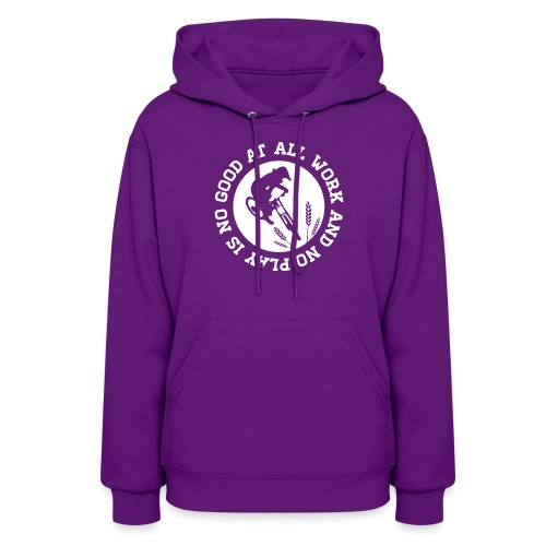 All Work and No Play - Sweater - Women's Hoodie