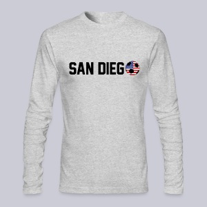 San Diego USA Soccerball - Men's Long Sleeve T-Shirt by Next Level