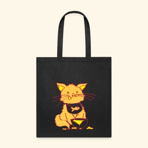 Kitty Nom Noms Tote - Tote Bag