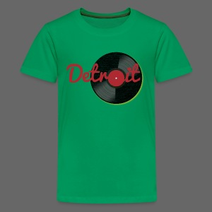 Detroit Records - Kids' Premium T-Shirt