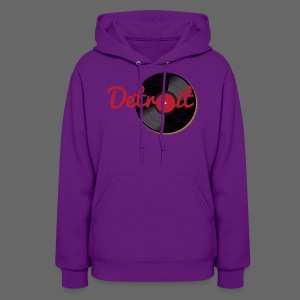 Detroit Records - Women's Hoodie